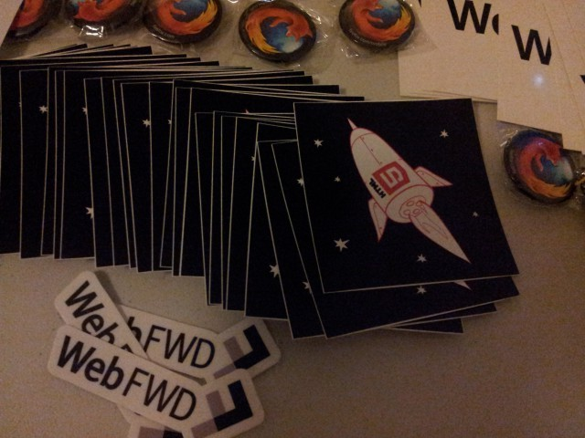 stickers, swag, rockets!